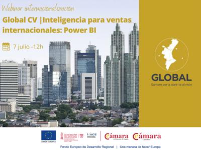 Webinar: Inteligencia para ventas internacionales: Power BI