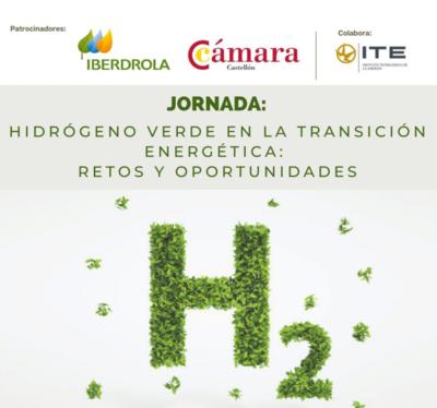 """Jornada """"Hidrógeno verde en la transición energética: retos y oportunidades"""""""
