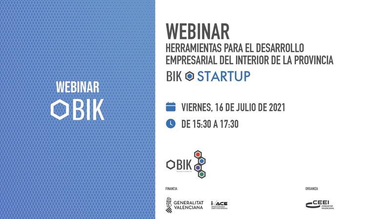 Webinar: herramientas innovadoras para el desarrollo empresarial en el interior de Castellón