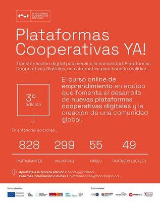 3ª Edición Curso Online Plataformas Cooperativas