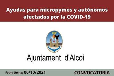 Ayudas para micropymes y autónomo Alcoy