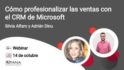 Webinar Cómo profesionalizar las ventas con el CRM de Microsoft