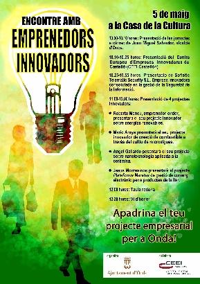 Cartel del Encuentro con Emprendedores Innovadores