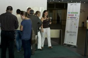 acreditación asistentes Enrédate Castellón 2011