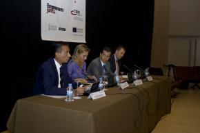 acto institucional Basco, Gallén, Miró y Sales