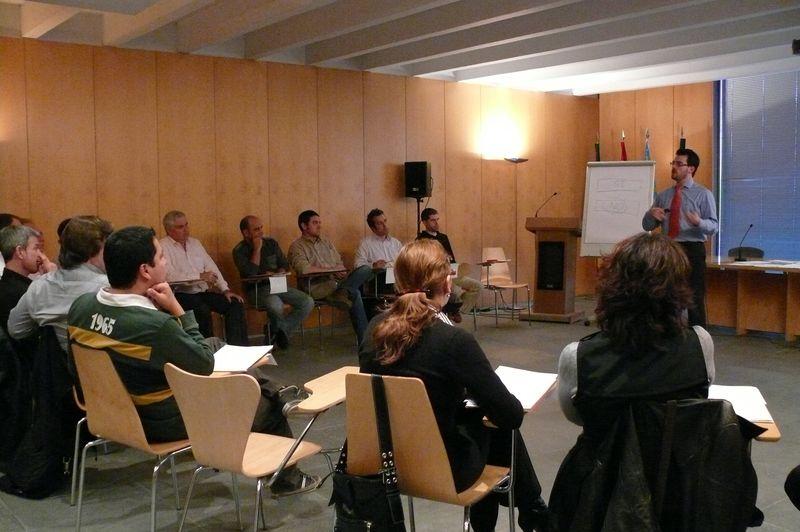 Sesión Técnicas de Ventas (VS3_8) en CEEI Castellón