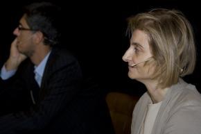 Gosende y Cristina Vázquez