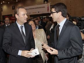 Justo Vellón Lahoz con Alberto Fabra en el DPE 2011