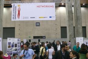 Panorámica zona de networking