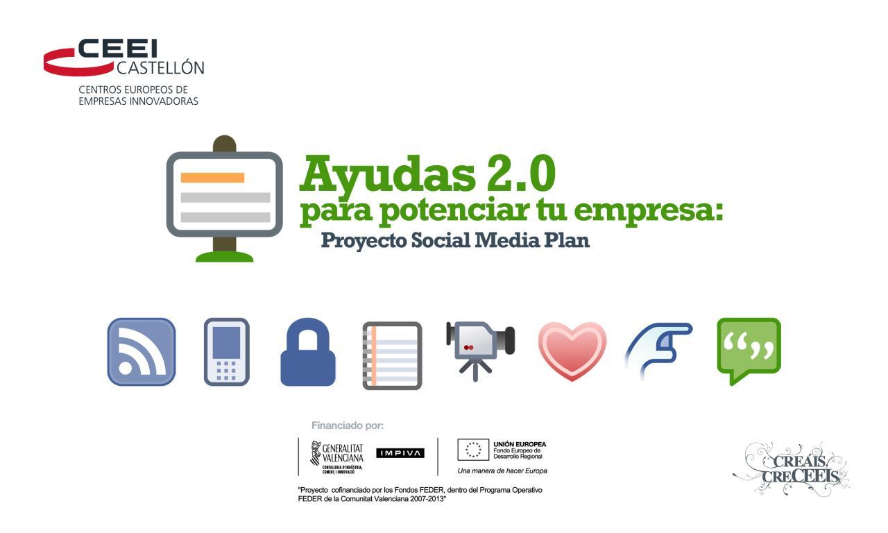 Programa proyecto SMP (Social Media Plan)