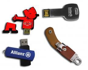 Inteligentes usos para memorias USB