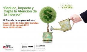 """""""Seduce, impacta y capta la atención de tu inversor""""Adriana Rubio 18052012"""