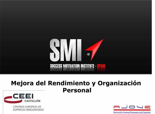Mejora del rendimiento y organización personal (Presentación)