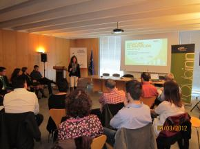 Presentación del desayuno de innovación, Edurne Zubiria, técnico CEEI Castellón