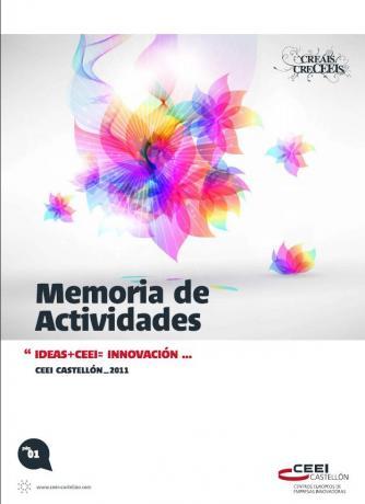 Portada Memoria Actividades CEEI Castellón 2011