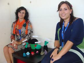 Noelia Coll y Mª José Sánchez