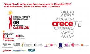 Día de la Persona Emprendedora de Castellón 2012