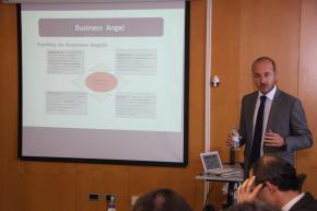 Aznar, durante su presentación en la Escuela de Inversores