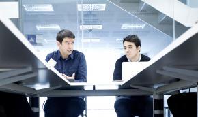 Sergio Aguado y Alfredo Cebrián, fundadores de Cuatroochenta