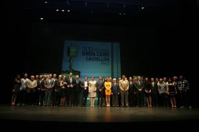 Foto de familia premiados Onda Cero