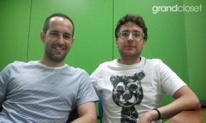 Alejandro Scarvaglieri y Juan Manuel Espinosa, fundadores de GrandCloset.com