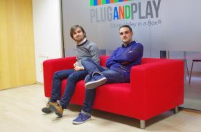 Álvaro Verdoy e Iban Borrás, socios fundadores de Sales Layer