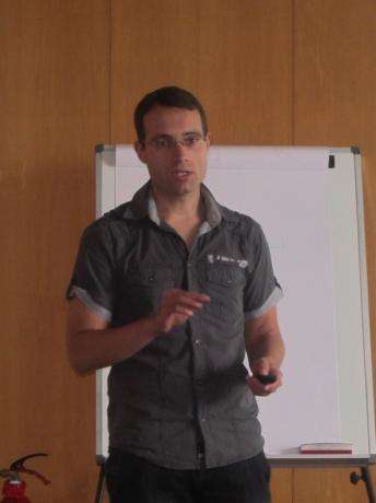 Juan Toribio, uno de los socios de Textil Energy