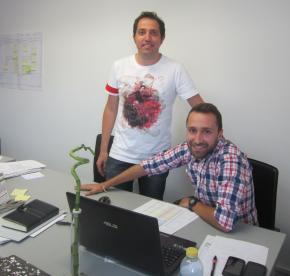Francisco Altarejos y David Moreno deTicTac Service