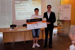 3º Premio categoría 1. Web Store