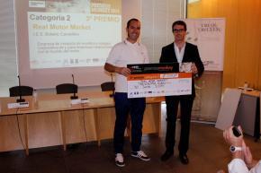 """3º premio, categoría 2 para """"Real Motor Market"""""""
