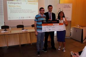 """1º premio, categoría 2 para """"Neteja Gos"""""""