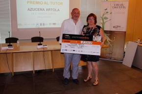 Premio al tutor para Azucena Artola