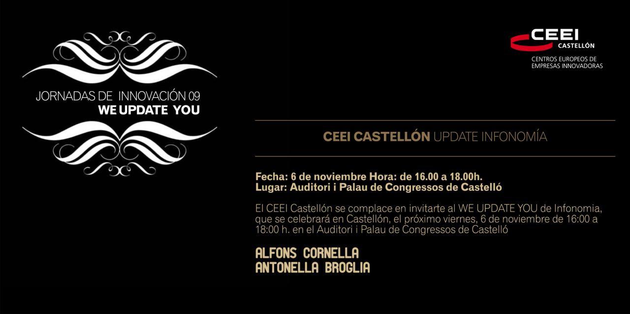 UPDATE 09, Programa en Castellón