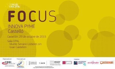 Programa FOCUS INNOVA PYME CS 2015