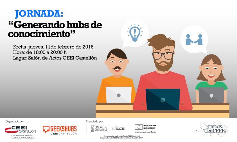 """Invitación jornada: """"Generando hubs de conocimiento"""" con Carlos Buenosvinos, CTO de Atrápalo"""