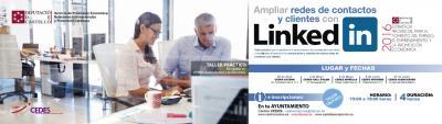 """Taller:""""Ampliar redes de contactos y clientes con Linkedin'"""