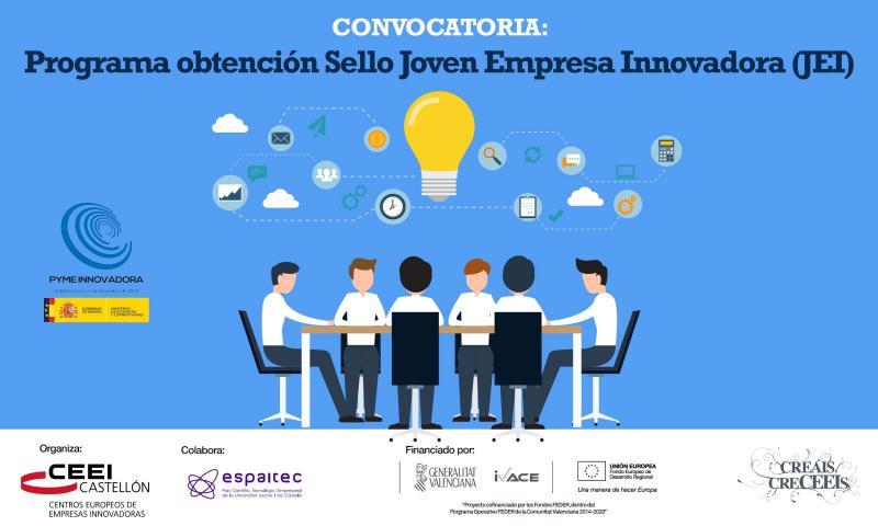 Convocatoria: Programa obtenci�n Sello Joven Empresa Innovadora (JEI)