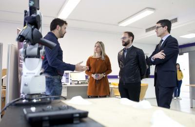 Tania Ba�os visita el CEEI para acercar la innovaci�n a la Vall d�Uix�