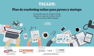 ''Plan de marketing online para pymes y startups''