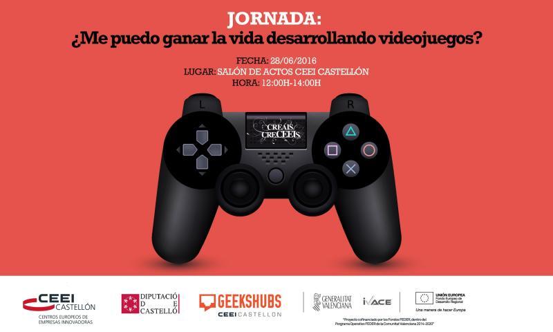 Recordatorio Invitaci�n Jornada:�Me puedo ganar la vida desarrollando videojuegos? martes 28