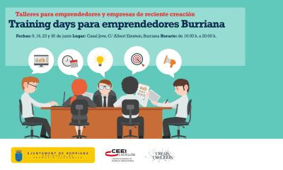 Training days para emprendedores y empresas Burriana