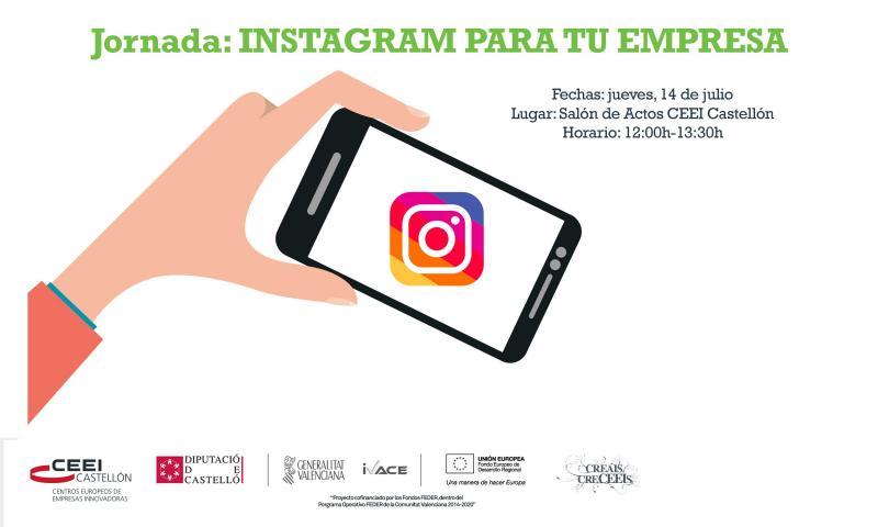 """Recordatorio :""""Instagram para los negocios, capta clientes y aumenta tus ventas"""". jueves 14"""