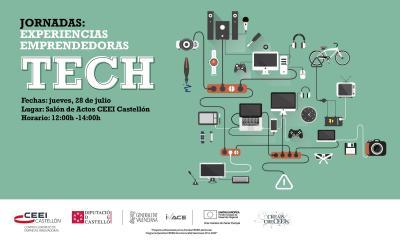 Jornada: �Experiencias emprendedoras tech�