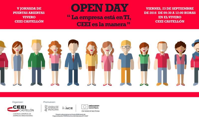 V Jornada de Puertas abiertas Vivero CEEI Castellón