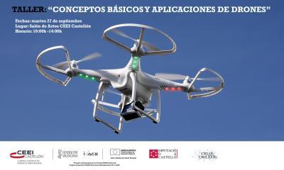 Taller:�Conceptos B�sicos y Aplicaciones de Drones�