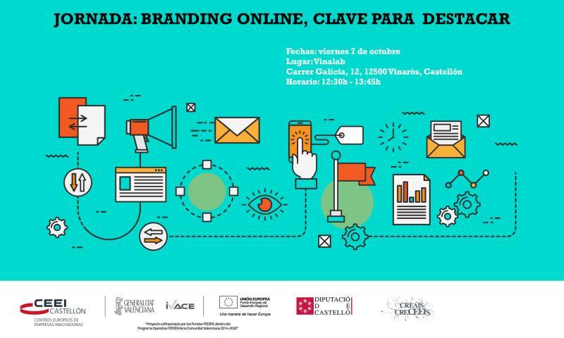 """Jornada: """"Branding online, clave para destacar"""", viernes, 7 de octubre"""