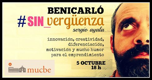 Taller: Creatividad y motivación, 5 de octubre en Benicarló