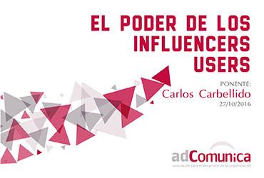 Conferencia: El poder de los influencers users