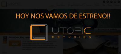 Nueva Web Utopic Estudios