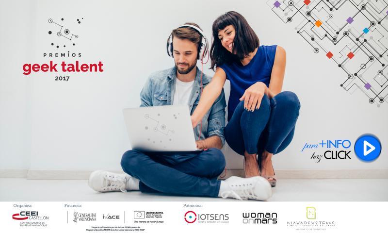 Recordatorio: Premios Geek Talent para las mejores ideas de negocio de base tecnológica